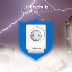 Adapter van de Reis van de Contactdoos USB van de Contactdoos van de Schakelaar van de Muur van de EU de Mobiele