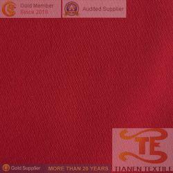 La superficie de satén de poliéster 100% para las prendas de tejido T400.