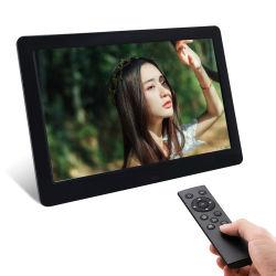 2019 Novo best selling 10 polegadas LCD acrílico Moldura Fotográfica Digital