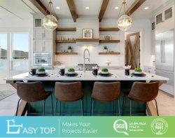 Les armoires de cuisine de plein air Design Green Shaker Commerce de gros des armoires de cuisine