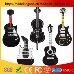 Don PVC personnalisé Instrument de musique Guitar lecteur Flash USB