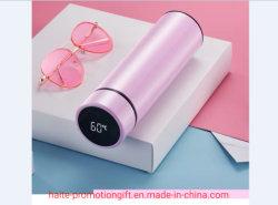 혁신적인 터치 지능형 온도 측정 304 스테인리스 스틸 비즈니스 선물 맞춤형 로고