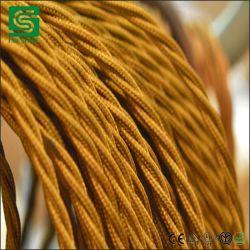 3 основных 0,75 мм текстильная ткань шнуры питания для украшения