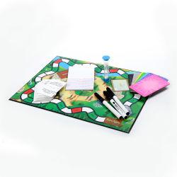 عادة [4ب] تدقيق [وروولف] متاهة سطح طاولة [روولتّ] ثعبان وسلّم تربويّ لعب لون