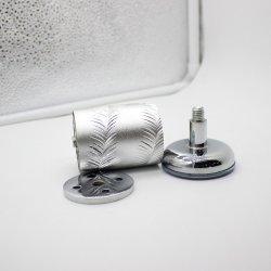 Muebles de metal decorativo cuadro aluminio pies piernas Patas de metal para sofás