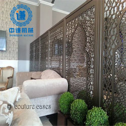 فندق Decorate Laser Cut Screen China المورّد 304 Steلس ستيل Sheet Restaurant Partition Wall