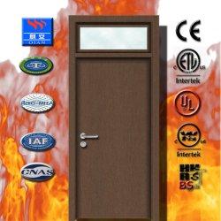 2019 Твердые деревянные двери Fire-Reted Огнеупорные двери в Фошань