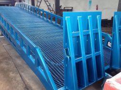 bewegliche Gabelstapler-Laden-Yard-Rampe des Behälter-10t für Verkauf