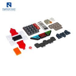 Super Septembre Commutateurs industriels personnalisé Membrane Clavier Boutons en caoutchouc de silicone