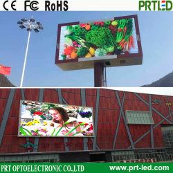 El movimiento al aire libre a todo color de la junta de la pantalla LED, la publicidad de la Junta firmar con un alto brillo (P 10, P 8, P 6 módulos)