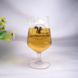 Il vetro di birra sicuro di Dishwahser di marchio su ordinazione del mestiere attacca le tazze
