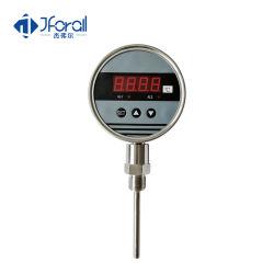 Función de alarma Jforall Sensor de temperatura del agua de aire de la pantalla LED de 12V DC