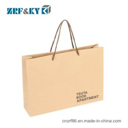 Custom écologique/Promotion/Logo imprimé recyclé marron/blanc/noir du papier kraft Shopping/Sport/Food/cosmétiques/vêtement/sac de papier cadeau