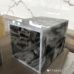 صفائح الحجر الشفاف من Onyx Alabaster للزينة الداخلية