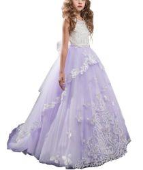 結婚式または党フラワー・ガールの服のための美しい高品質
