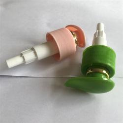 Pompe à lotion or Aluminium-Plastic pulvérisateur