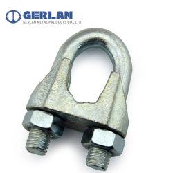 Aço maleável de alta qualidade DIN galvanizado741 Cabo aderência