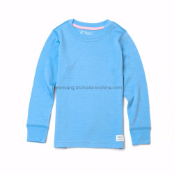 Custom Merino Australiano capa base caliente de invierno Lana Merino ropa interior térmica para niños