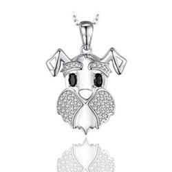 925 pendentifs en argent sterling crâne pendentifs CZ Charme Bijoux Pendentifs neutre de la tête du crâne pendentifs