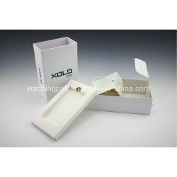 Contenitore impaccante del Kraft del cartone delle cellule del telefono della cassa di regalo su ordinazione bianco di elettronica per il cellulare