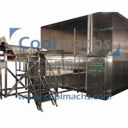 Kiwis Túnel Fluidizado Quick Freezer/Kiwis Máquina congelados