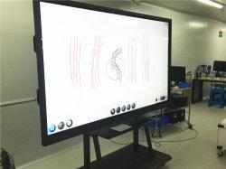 55inch dix points de tableau blanc numérique tactile avec stylet