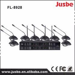 L'équipement audio UHF FL-9328 Multi fréquence du microphone système de conférence sans fil