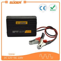 Suoer 500W Gleichstrom 12V zum Solarauto-Inverter Wechselstrom-220V für Hauptgebrauch (SAA-500AS)