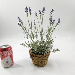 Las plantas de lavanda Artificial Wholesales Bonsai la decoración del hogar
