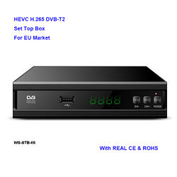 DVBのT2ロシアのための完全なHD MPEG4 DVB-T2 TVボックス受信機
