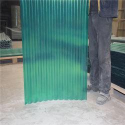 De doorzichtige Bladen van het Dakwerk van de Glasvezel, Transparant Dakraam GRP