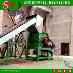 مطرقة آلية إعادة تدوير النفايات نفايات الأسطوانة المعدنية/الألومنيوم الخردة/الأسطوانة المستعملة