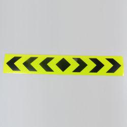 Seta Preta Fita fluorescente guiando a segurança de Fita Refletora