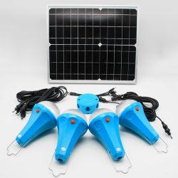 20W Luz Solar Iluminação Doméstica Solar 5200mAh 3W Luz Solar Gerador Solar Portátil