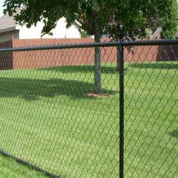 Aço inoxidável PVC/Galvanized Wire Mesh elo da corrente metálica cerca muro de segurança para Fazenda/jardim