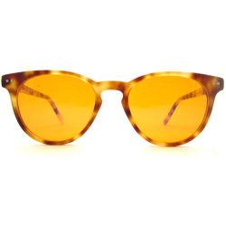 Специализированные торговые марки классический круглый ацетат Каркас компьютера очки с синим светом объектив для глаз