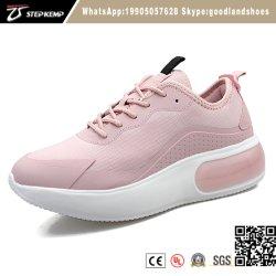 Señoras Gimnasio Deportes la ejecución de los zapatos para correr con Spandex Upper fácil de usar mujeres zapatos casual 2538