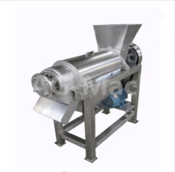 Acero inoxidable 304 Pulpa de remolacha azucarera de la máquina de extracción del extractor de jugo de fruta de la Fresa /