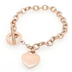 Acier inoxydable 316L Bracelet de coeur pour les femmes