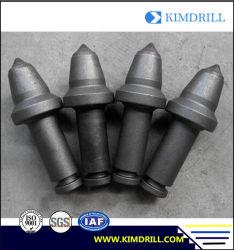 Ts5 Ts7 Trencher-Bohrgerät-Hartmetall-Gewehrkugel-Auswahl-Graben-Scherblock-Zähne, die Hilfsmittel Trenching sind