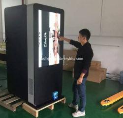 55 Inch étanche la signalisation numérique LCD moniteur d'affichage de la publicité de plein air