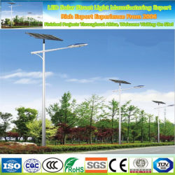 CE RoHS-Zertifikat IP65 Hochwertige Split 20 W 30 W 40 W 60 W 80 W 100 W 120 W Power LED Solar Street Light