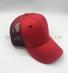 Vermelho de contraste de moda de malha de algodão tampas de Beisebol Sport Chapéus