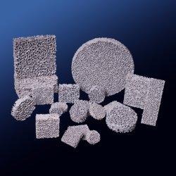 Карбида кремния из пеноматериала керамический фильтр для очистки воздуха оборудования защита окружающей среды