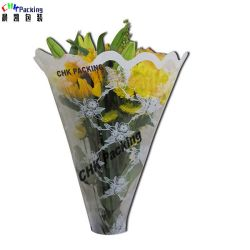 Impression haute qualité Le pliage Fancy PLA fleur floral en plastique des manchons d'enrubannage BOPP SAC