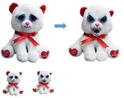 Pluche Stuffed Animal Toy Met Veranderlijk Gezicht