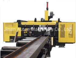 Perforazione del fascio di CNC H e riga ad alta velocità della segatrice della fascia per la struttura d'acciaio