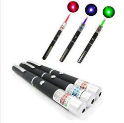 5MW Laser 파란 보라빛 빨간 녹색 Laser 포인터 펜 빛