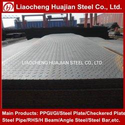 Plaat van de Vloer van het Metaal van het Vloeistaal van de Traan Q235B van S235jr A36 Ss400 de Geruite voor Aanhangwagen