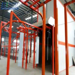 Las puertas de seguridad de alta eficiencia de la línea de pintura